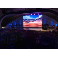 Best RGB Rental Led Display Screen Inside With 3m-10m Viewing Distance , 1200nits Brightness wholesale