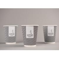 Quality Biodegradable Triple Wall Cups For Hot Drinking / Coffee , Eco Friendly wholesale