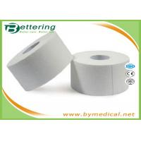 Best 2.5cm Non Elastic Cotton Athletic Sports Tape , Climbing Finger Wrapping Tape Latex Free wholesale
