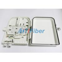 Best 16 Port Optical Fiber Distribution Box With 1*16 PLC Fiber Splitter wholesale