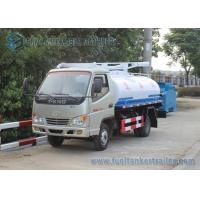 Best Factory Supply T-king 4x2 Mini Fecal Suction Truck Vacuum Sewage Suction Truck 1000 Gallons wholesale