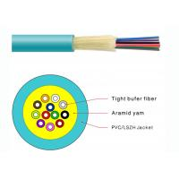 Buy cheap Durable Tight Buffer Distribution Fiber Optic Cable Flame Retardant PVC Jacketed from wholesalers