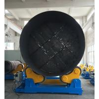 Quality Large Rotary Capacity Automatic Rotator For Silo Tank Welding Production wholesale
