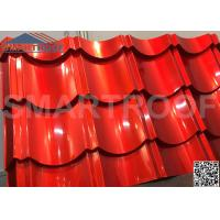 Quality 1m Wide Synthetic Plastic Metal Roof Sheets 0.526mm Thickness Easy Foaming wholesale