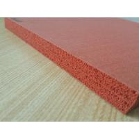 Quality Double Impression Fabric Silicone Rubber Sheet Heat Insulation wholesale