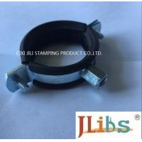 Best M8 M10 20mm Width combi nut clamp with EPDM rubber Cast Iron Pipe Clamp wholesale