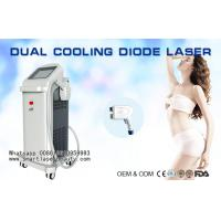Best 755nm , 808nm , 1064nm Diode Laser Hair Removal Machine / 3 In 1 Diode Laser Hair Removal wholesale