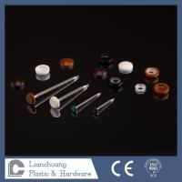 Quality A2 / A4 Polymer Headed Pins and Stainless Steel Nails with white / black / brown / grey Head wholesale