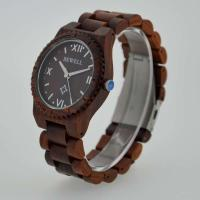 Quality Eco Friendly Bewell Wooden Wrist Watch Waterproof With Customised Logo wholesale