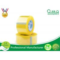 Quality Security Adhesive BOPP Packaging Tape , Waterproof Sticky Tape Long Lasting wholesale