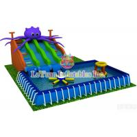 Summer Season Metal Frame Pools For Outdoor Activity / Swimming / Water Fun