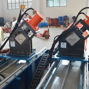 Best Speed 12m/min Cassette Type Steel Guide Rail Roll Forming Machine Chain drive wholesale