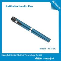 Quality Sapphire Blue Purple Insulin Pen , Regular Insulin Pen For Humalog Cartridge wholesale