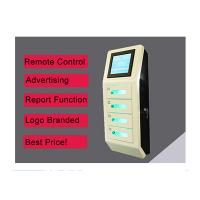 Quality Cell Phone Wall Mounted Charging Station With Digital Lockers , Free Charge wholesale