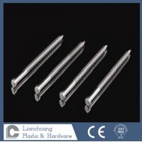 Quality 50 x 2.8mm  Lost Head Annular Ring Shank Stainless Steel Nails for timbers wholesale