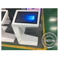 Quality Capacitive Touch Screen Kiosk 27inch i7 CPU All-in-One Touch Totem Win10 Wifi Multi Touch Interactive Kiosk wholesale
