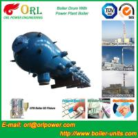 Quality High Pressure Coal Boiler Mud Drum Longitudinal With Fire Prevention wholesale