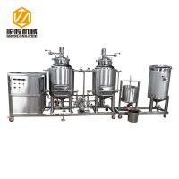 Semi Automatic Commercial Microbrewery Equipment 100L / 200L Tank