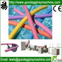 Quality For Swimming Floating EPE Foam Noodle Making Machinery wholesale
