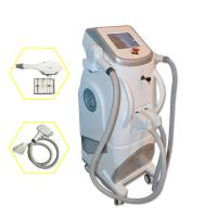 Quality Pain Free Shr + Ipl + Rf Semiconductor Laser Hair Removing Machine White Color wholesale