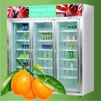 Quality Commercial Supermarket Beverage And Milk Display  Refrigerator  wholesale