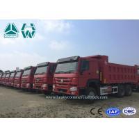 Buy cheap High Capacity Mining Tipper Truck , 20 Ton Coal Mine Trucks Ten Wheel from wholesalers
