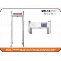 Best High Sensitivity Walk Through Security Gates / Door Frame Metal Detector With CCTV Camera wholesale