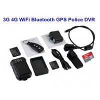 Quality Remote Controller Police Body Worn Cameras For Police Officers With Black Color wholesale