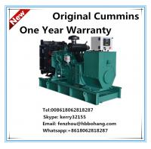 Cummins 85KVA diesel generator open type with Stamford