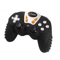 12 Button 4 Axis RF Wireless Gamepad , Analog / Digital Mini Game Pad