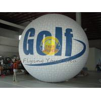 White Fireproof reusable inflatable advertising helium balloons for Sporting events