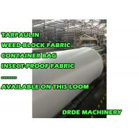 Best Plastic Tarpaulin Sheet Loom Making Machine 190 - 400cm Width High Speed wholesale