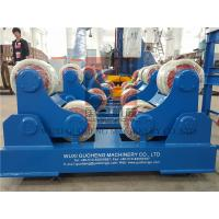 Cheap Standard 10T Pressure Vessel Vessel Turning Rolls / Pipe Rotators For Welding for sale