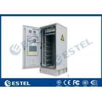 Quality IP55 32U Outdoor Telecom Cabinet Double Wall With Heat Insulation 19 Inch Equipment Cabinet wholesale