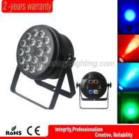 Best professional stage light 32bit dimming powercon 18*10w rgbwa 5in1 par wholesale