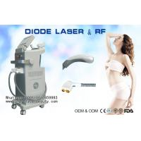 Quality Diode Laser Hair Removal Machine , Bipolar RF Beauty Equipment For Skin Tightening wholesale