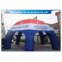 Multicolor Spider Advertising / Exhibition Inflatable Air Tent Trade Show Booths Leisure Tent