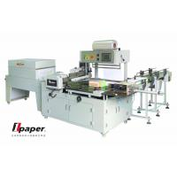 Buy cheap Automatic Box Paper Collective Tissue Paper Making Machine With Stable Running from wholesalers