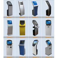 22 inch indoor free standing multi touch screen self service kiosk