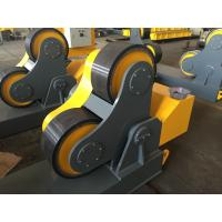 Quality Rubber Wheels Pipe Turning Rolls For Piping Fabricate , Loading Maximum To 40 Ton wholesale