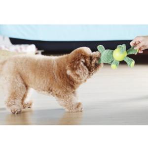 Small Stuffed Dogs Animal Plush Dolls Green Rhinoceros Design For Christmas Gift