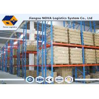 Quality High Capacity Storage Pallet Warehouse Racking Metal Display With Frame Barrier wholesale
