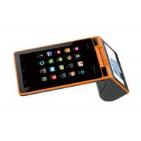 3G Android All In One Mobile POS Terminal With Biometrics Fingerprint Reader