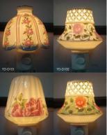 sell night lamps,night light,wall lamps,aroma ceramic lamp