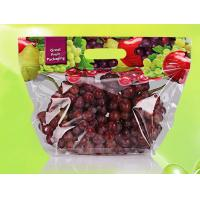 Transparent Stand Up Barrier Pouches , Recycled Small Fruit Storage Bags