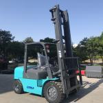 Quality 6m Lift Height Diesel Engine Forklift Truck 4 Ton Streamline Balance Weight wholesale