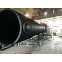 KFY large diameter pe hdpe corrugated plastic drainage pipes machinery