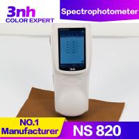Quality 3nh NS820 Portable Cpaint Matching Spectrophotometer 4mm Small Aperture Color Difference Meter wholesale