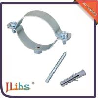 High Performance Durable Large Pipe Clamps , Stand Off Pipe Clips Free Sample
