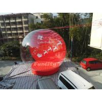 Quality Outdoor Advertising PVC Tarpaulin EN15649 Inflatable Snow Globe For Christmas wholesale